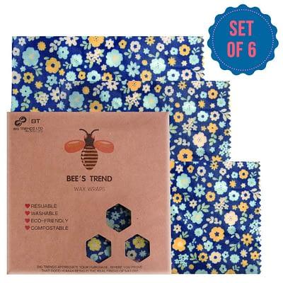 Bienenwachs-Wraps | Plastikfreie Abdeckung für Lebensmittel
