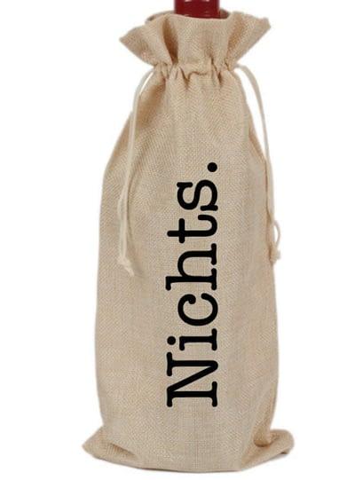 Flaschenbeutel - Für alle, die sich nichts wünschen.